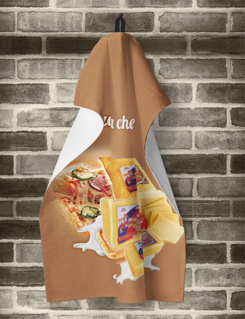 кухненска кърпа рекламна